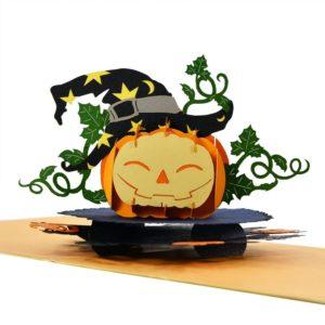 Halloween popup card