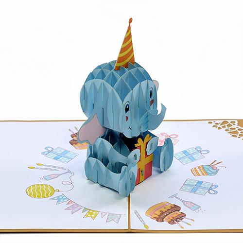 Birth day popup card