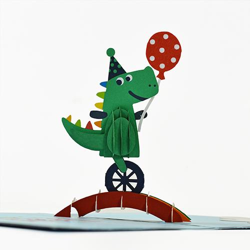 Cheerful crocodile