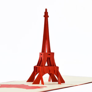 Eiffel Tower popup card