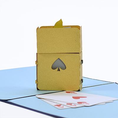 Cigarette lighter 3D Pop Up Card