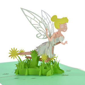 Tinker Bell popup card