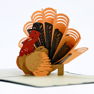 popup card for thanksgiving day