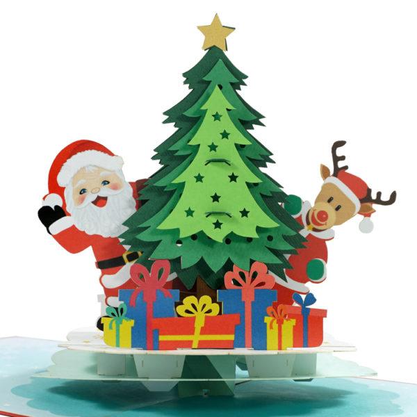 Christmas popup card