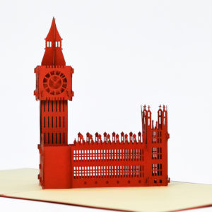 Big ben popup card