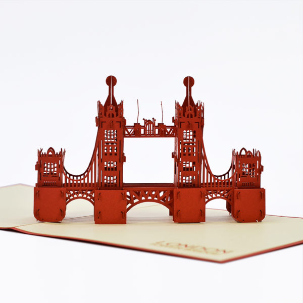 Tower Bridge popup card