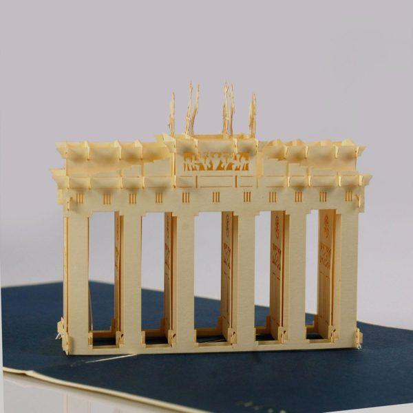 Brandenburg Gate popup card