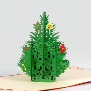 Pine tree popup card