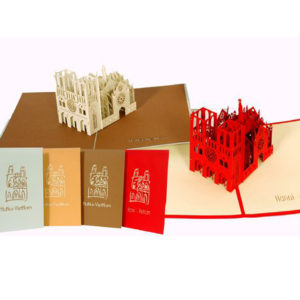 Ha noi Church popup card 3d