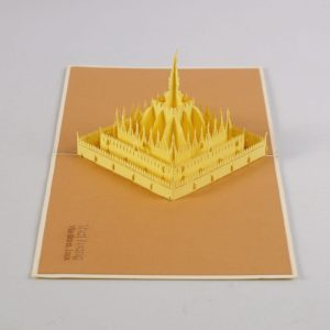popup card building