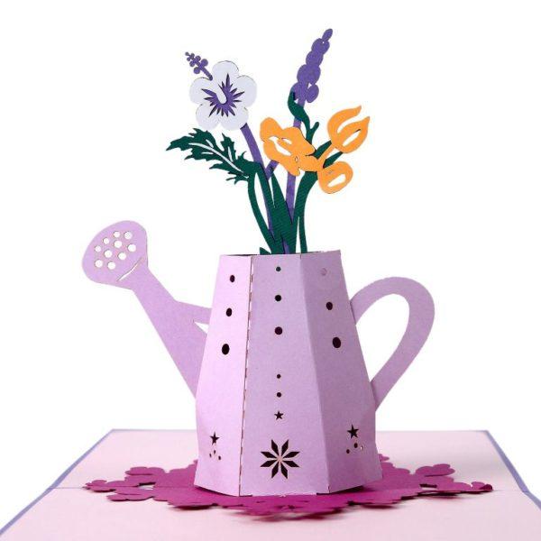popup card flower