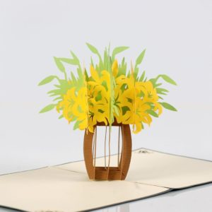 Flowers 3D pop up card