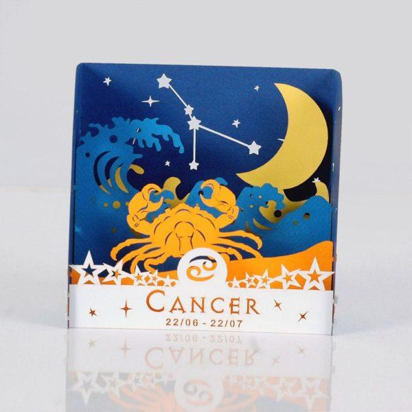 cancer zodiac popup card