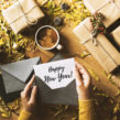 happy new year popup card