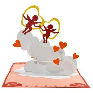 Love popup card 3d