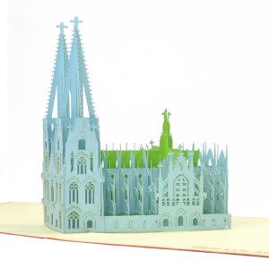 Building model popup card 3D