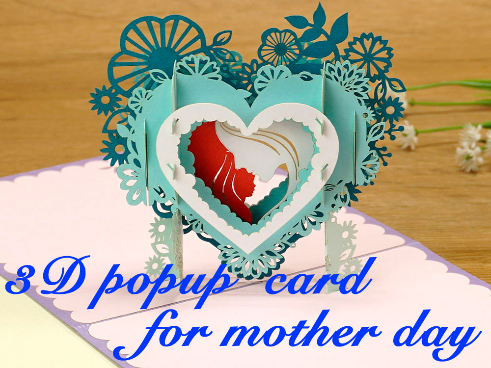 3D card for mom