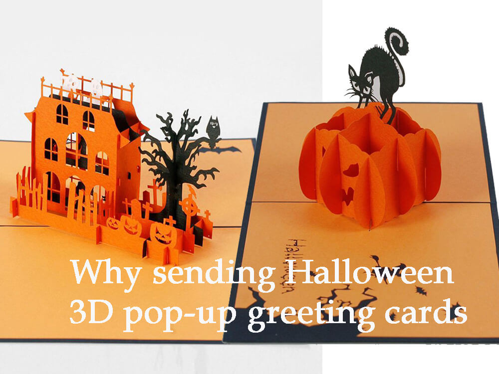 Why sending Halloween 3D greeting cards